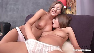 lesbian sex adventure is sometning special for Alice R and Inna