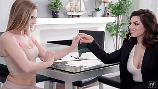 Darcie Dolce added to Sydney Cole lesbian sexual connection video