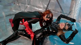 Batwoman Lezdom Catwoman Angela Sommers