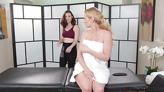 A sexy MILF gets the full hypnotic including a happy ending rub down