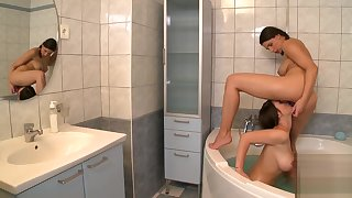Zafira and pal fro bathroom beaver pleasing