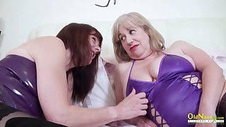True womanly love and these mature BBWs love of a male effeminate sex