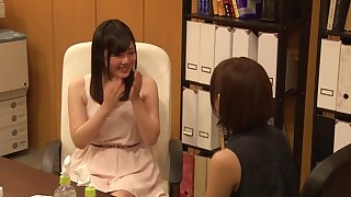 Amateur video be incumbent on Japanese lesbians having sex - Mana increased by Miki